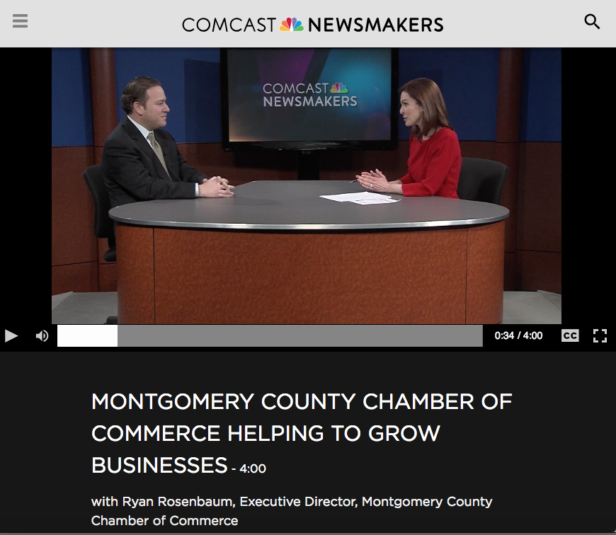 Montco Chamber featured on Comcast Newsmakers Feb. 1, 2019
